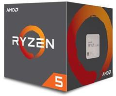 Procesor AMD Ryzen 5 1600 6-core, 3.2 GHz (3.6 GHz Turbo), 19MB cache, 65W, socket AM4 (Wraith cooler)