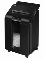 Skartovač Fellowes AutoMax 100 M P-4, Cross cut 4×10mm, zásuvka 100listů, 23l, Credit Card