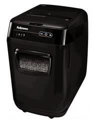 Skartovač Fellowes AutoMax 200 M, P-5, Cross cut 2×14 mm, zásuvka 200 listů, 32l, Credit Card, NBÚ