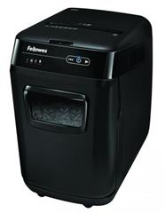 Skartovač Fellowes AutoMax 200C, P-4, Cross cut 4×38mm, zásuvka 200listov, 32l, CD+DVD, Credit Card, NBÚ