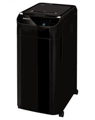 Skartovač Fellowes AutoMax 350C, P-4, Cross cut 4 x 38 mm, zásuvka 350 listů, 68 l, CD+DVD, Credit Card, NBÚ+ olej ZDARM