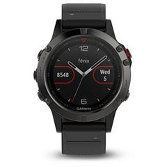 Hodinky Garmin fenix5 Gray Optic, Black band