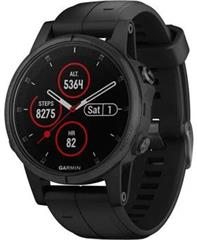 Hodinky Garmin Fenix5S Plus Sapphire Black Optic, Black band