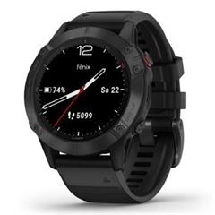 Hodinky Garmin fenix6S PRO Glass Black/Black Band (MAP/Music)