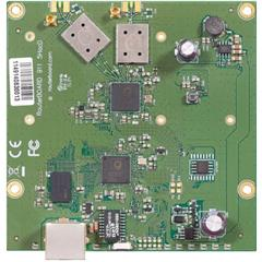 RouterBoard Mikrotik RB911-5HacD 802.11a/n/ac, RouterOS L3, 1xLAN, 2xMMCX