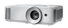 Projektor Optoma HD27e white (DLP, FULL 3D, 1080p, 3 400 ANSI, 25 000:1, HDMI and MHL support and built-in 10W speaker)