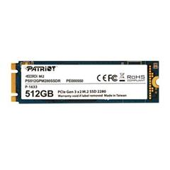 SSD disk Patriot 512GB Scorch M.2 2280 PCIe NVMe
