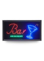 "LED tabule Securit LED SIGNS ""BAR"" s plastovým rámem"